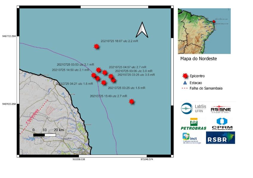 Terra volta a tremer no RN; nove terremotos já são registrados