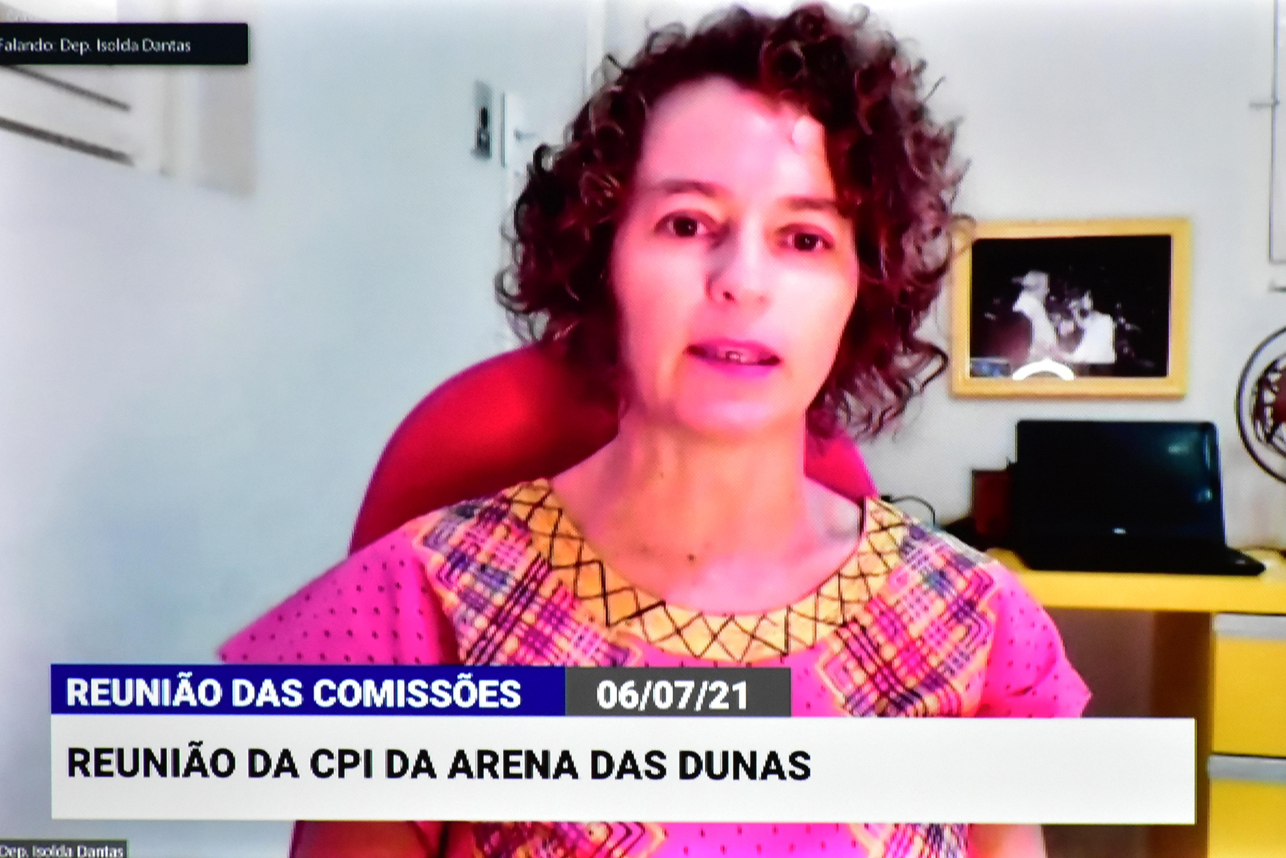 CPI da Arena das Dunas é retomada e indica relatoria