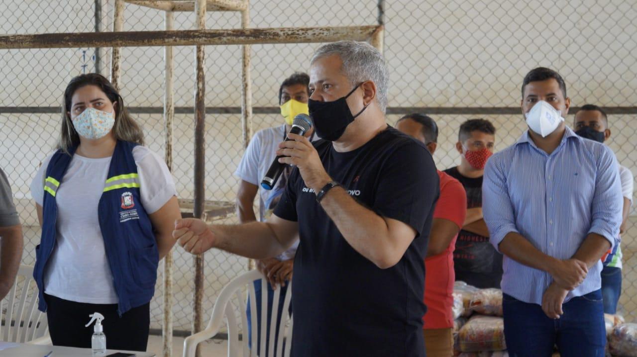"""Prefeito de Ceará-Mirim cobra celeridade na distribuição de vacinas: """"Governo do Estado tem que ser transparente"""""""