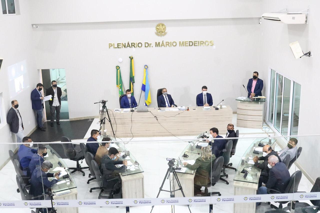 Câmara de Parnamirim faz balanço do primeiro semestre de 2021