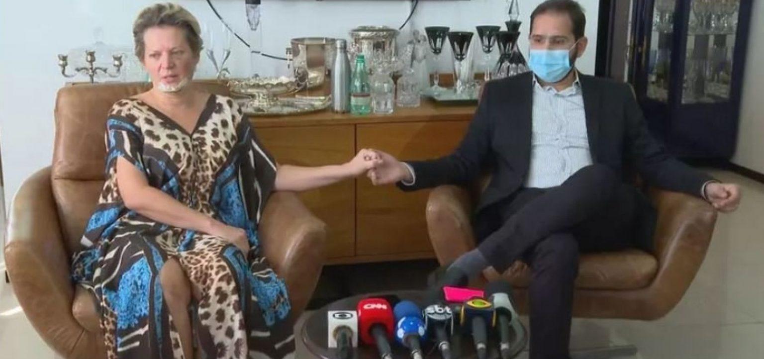 'Jamais faria isso', diz marido de Joice, ao negar ter agredido a mulher