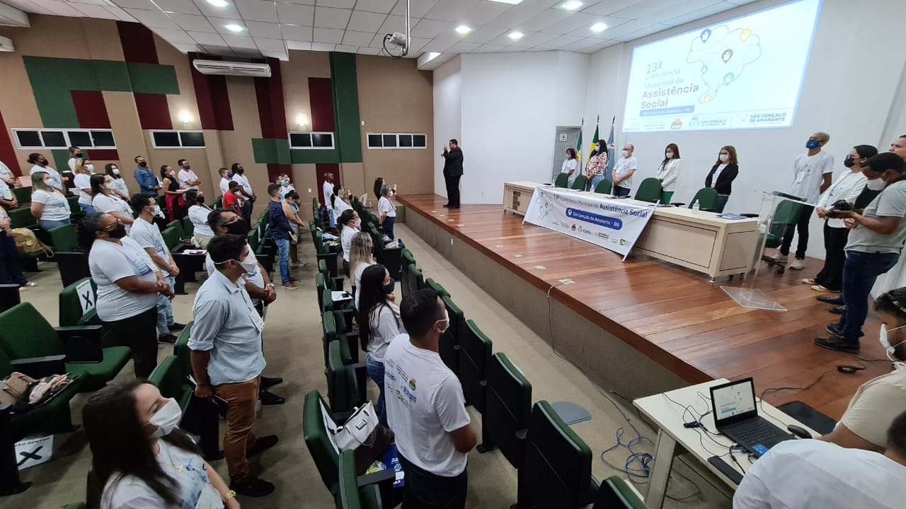 13ª Conferência Municipal de Assistência Social é realizada em São Gonçalo