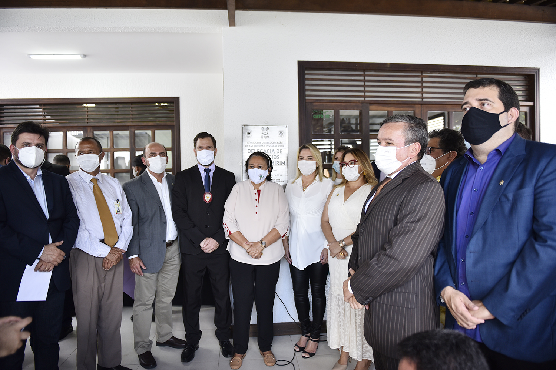 Governo inaugura delegacia para investigar homicídios em Parnamirim