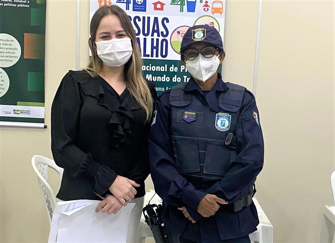 Prefeitura oferece capacitação profissional às mulheres protegidas pela Patrulha Maria da Penha