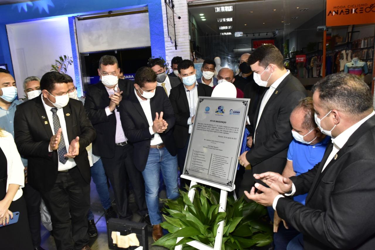 Fundação e TV Câmara inauguram novas instalações