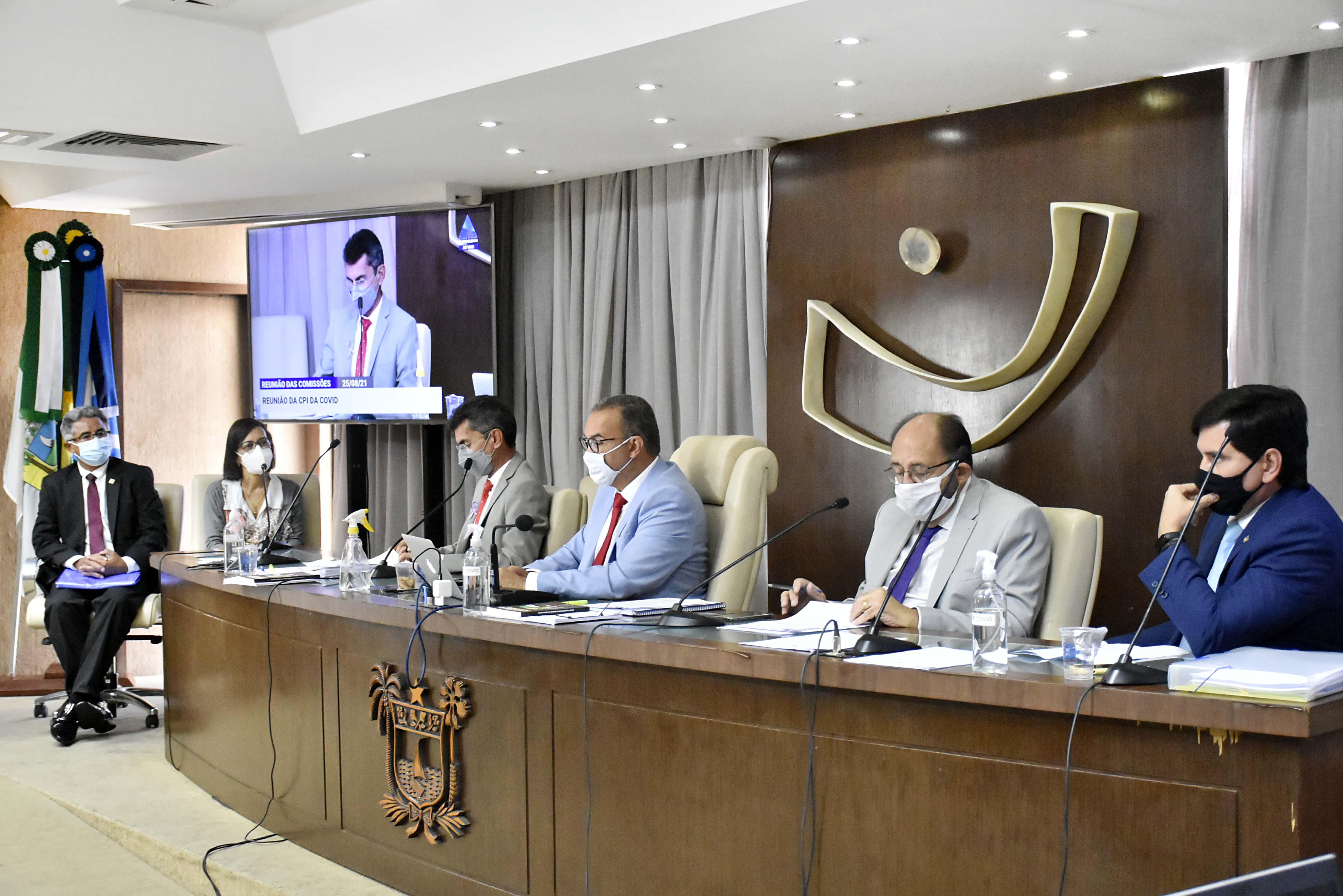 Compra de EPIs é discutida em reunião da CPI da Covid na ALRN