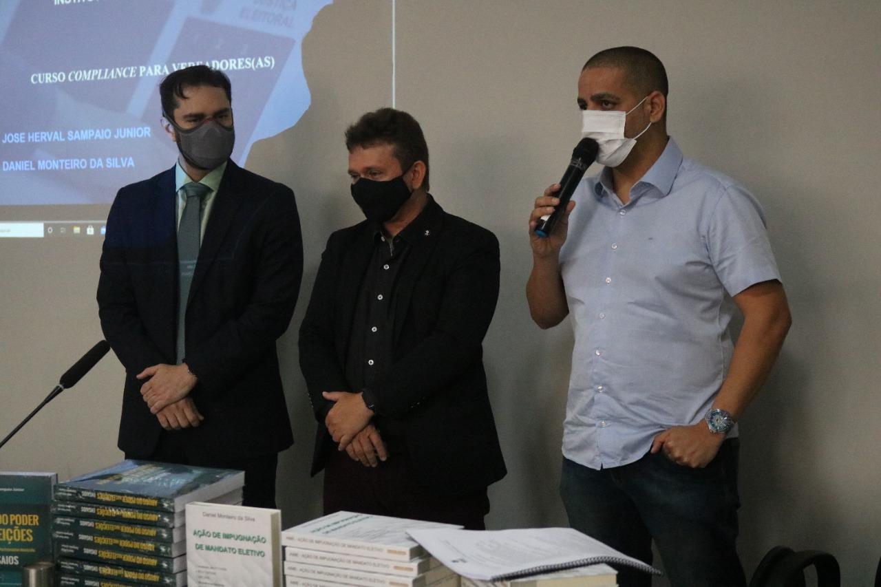 Vereadores de Parnamirim participam de curso sobre Compliance