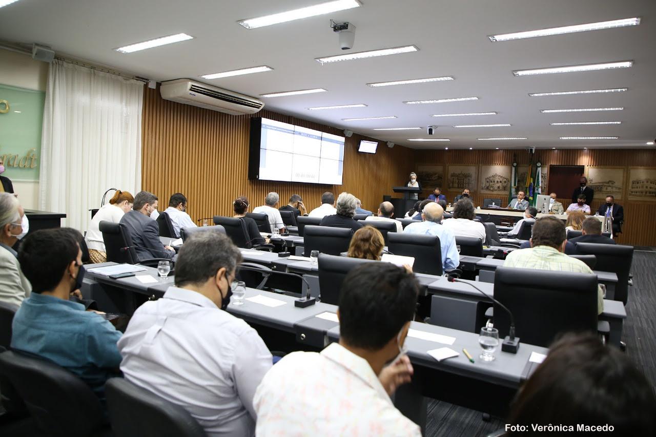 Comissão Especial apresenta 60 artigos da revisão do Plano Diretor em audiência pública