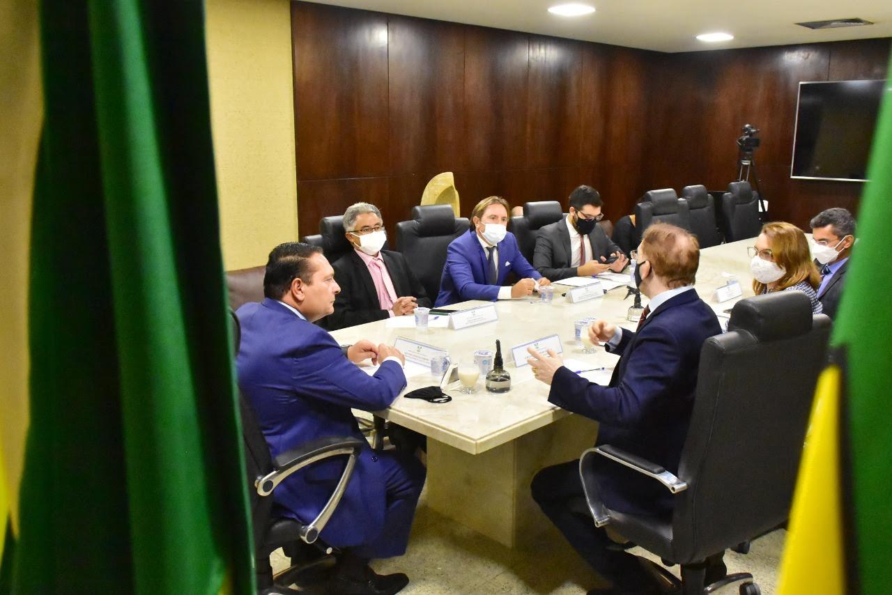 Ezequiel Ferreira recebe procurador-geral do Estado e reforça parceria com a PGE